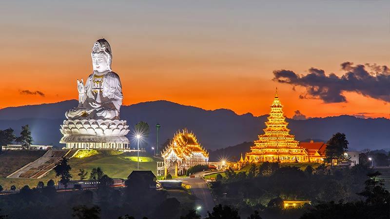 Chiang Rai có nhiều điểm đến đẹp