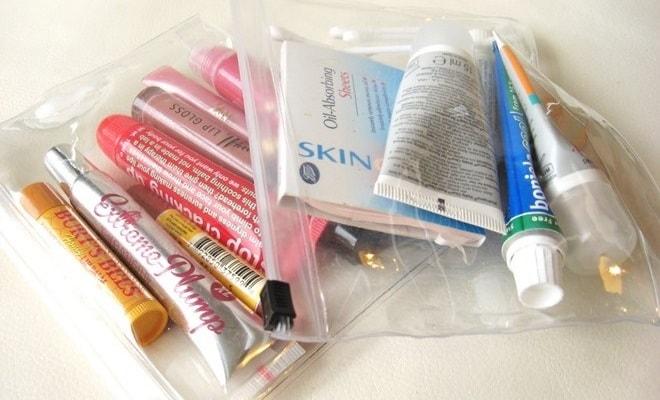 Lưu ý các đóng gói các chất lỏng trong hành lý xách tay Thai Airway