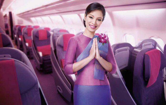 Hãng hàng không Thai Airways Thái Lan