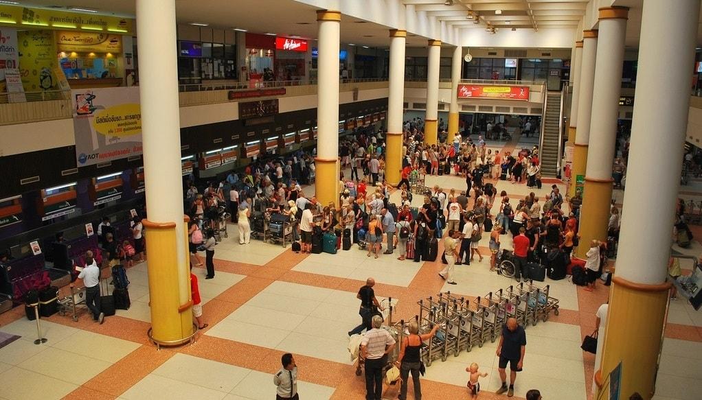Sân bay quốc tế Phuket Thái Lan