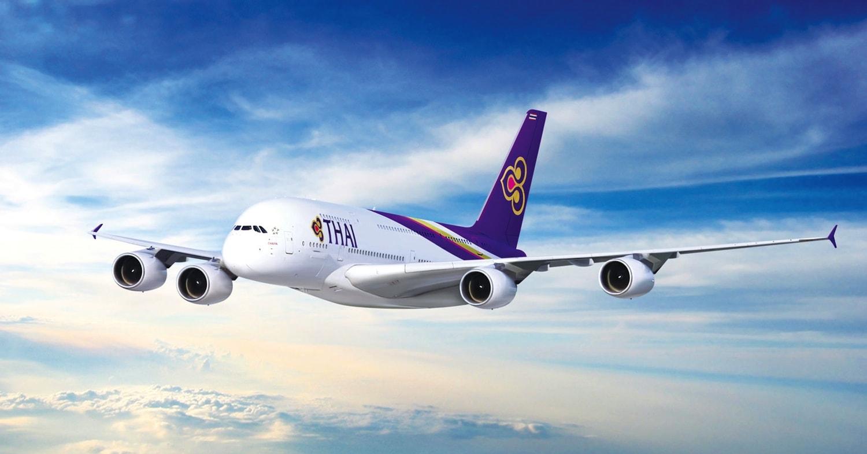 Thai Airways có đội bay hùng hậu.