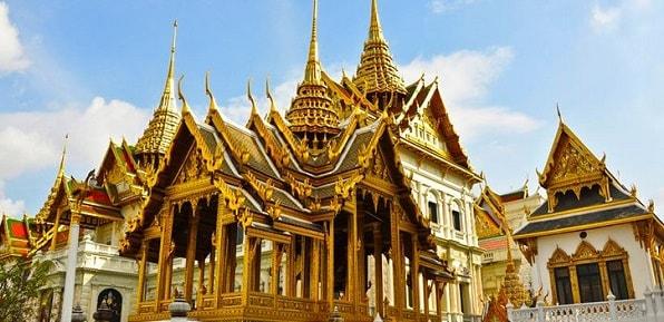 Những ngôi đền vàng ở Thái Lan