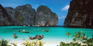Vịnh biển đẹp ở Thái Lan