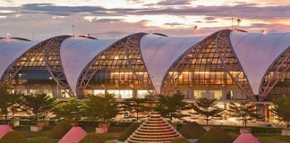 Sân bay quốc tế Suvarnabhumi Bangkok