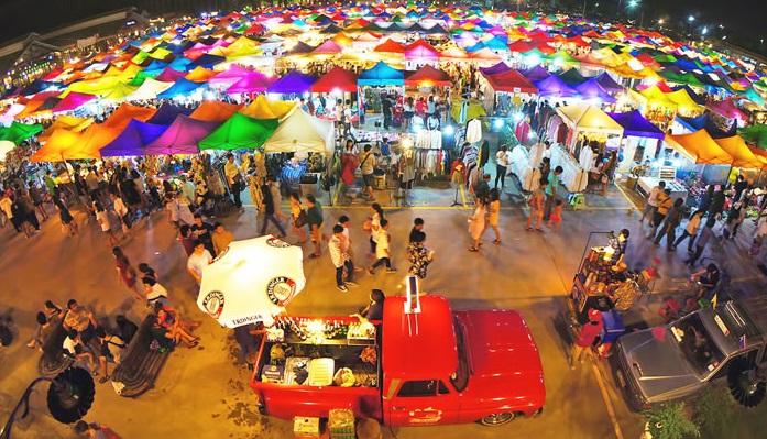 Ghé thăm các khu chợ đêm