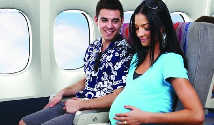 Phụ nữ mang thai trên 36 tuần hãng không chấp nhận vận chuyển