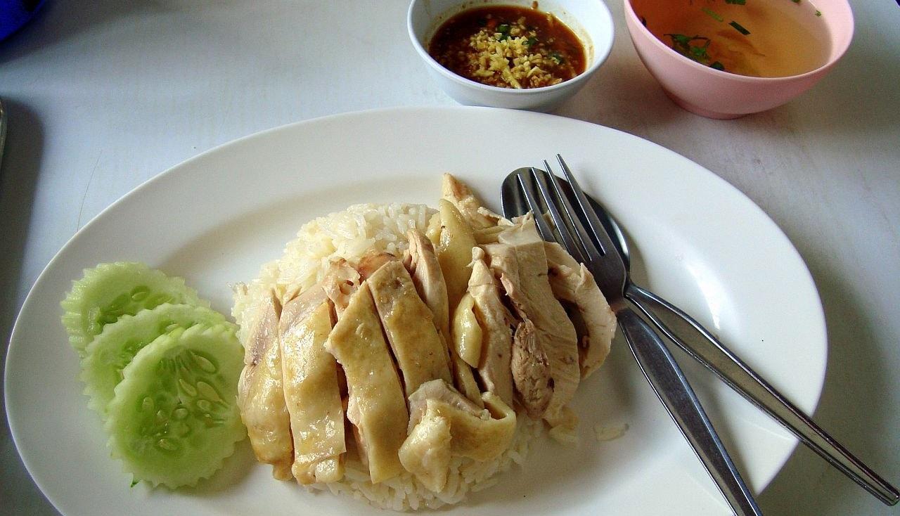Cơm gà Thái Lan
