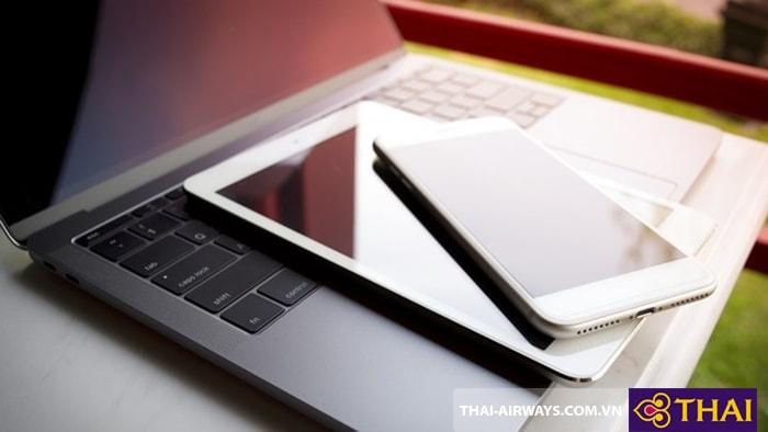 Laptop và ipad để ở nơi an toàn nhất
