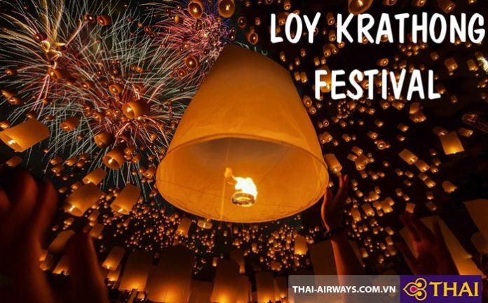 Lễ hội thả hoa đăng Loy Krathong