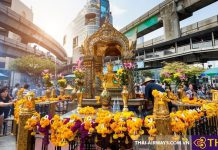 Erawan Shrinein Bangkok - Địa điểm sống ảo lý tưởng