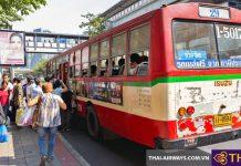 Kinh nghiệm đi xe bus ở Bangkok