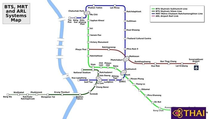 Bản đồ để xem các tuyến xe